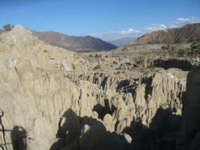 2294 Valle de la Luna. La Paz